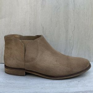 Splendid Ankle Boots Womens Size 8.5 Tan Suede